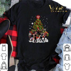 Sunrise Avenue Christmas tree shirt sweater