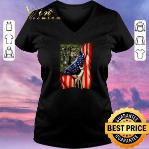 Top American flag Veteran your name shirt