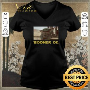 Top Baby Yoda Boomer Ok Star Wars shirt sweater