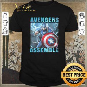 Top Captain America Avenger Assemble shirt