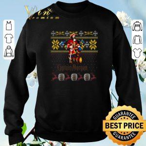 Top Captain Morgan ugly Christmas shirt sweater 2