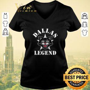 Top Dallas Legend Cowboys Black Cat shirt