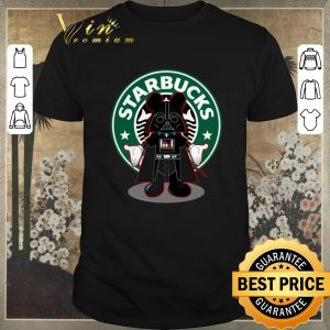 Top Darth vader Mickey Starbucks shirt sweater