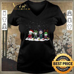 Top Joker chibi characters Christmas shirt sweater