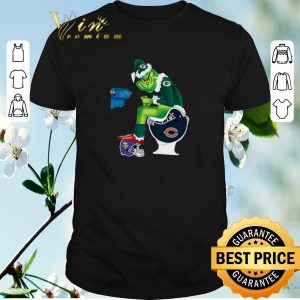 Top Packers Grinch Santa Detroit Lions Chicago Bears Toilet Vikings shirt sweater
