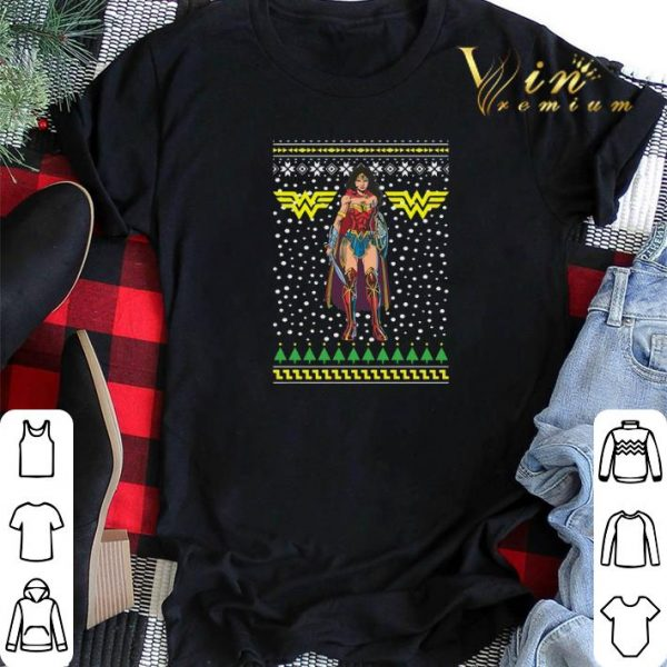 Wonder Woman Ugly Christmas sweater