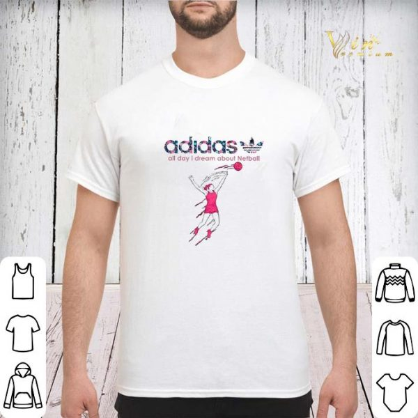 adidas all day i dream about Netball shirt sweater
