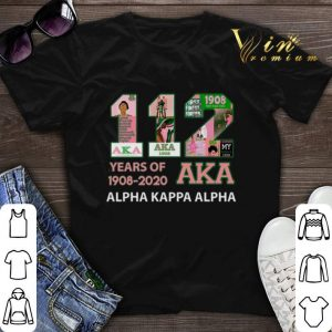 112 Years of 1908 2020 Alpha Kappa Alpha shirt sweater