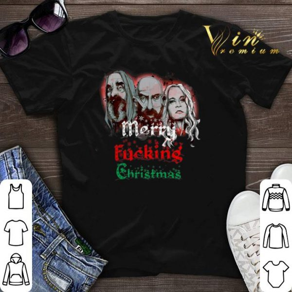 3 From Hell Merry fucking Christmas Rob Zombie shirt sweater
