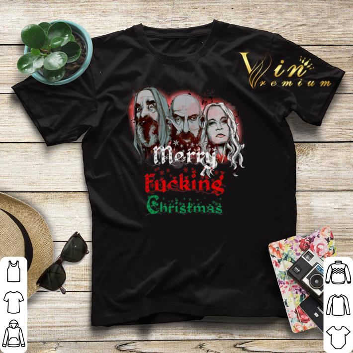 3 From Hell Merry fucking Christmas Rob Zombie shirt sweater 4 - 3 From Hell Merry fucking Christmas Rob Zombie shirt sweater