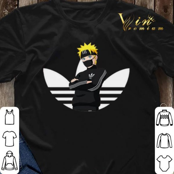 Adidas Naruto Face Mask shirt sweater