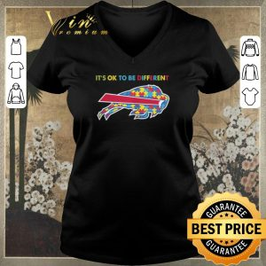 Awesome Buffalo Bills it's ok to be different Autism Awareness shirt sweater 1