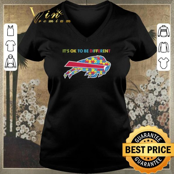 Awesome Buffalo Bills it's ok to be different Autism Awareness shirt sweater
