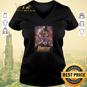 Awesome Chicago Bears Monsters Of The Midway Avengers Infinity War shirt sweater