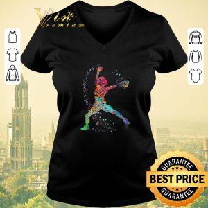 Awesome Colorful baseball player art shirt sweater