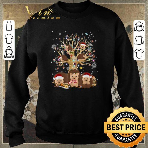 Awesome Hedgehogs Santa Christmas Tree Ornament shirt sweater