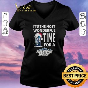 Awesome It's the most wonderful time for a Keystone Light Christmas shirt sweater