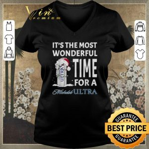 Awesome It's the most wonderful time for a Michelob Ultra Christmas shirt sweater