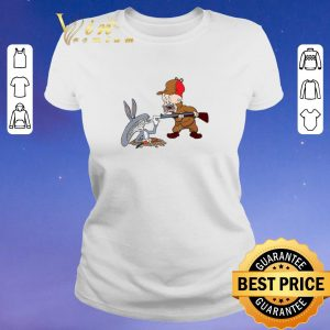 Awesome Looney Tunes Alien Predator Bugs Bunny Elmer Fudd shirt sweater