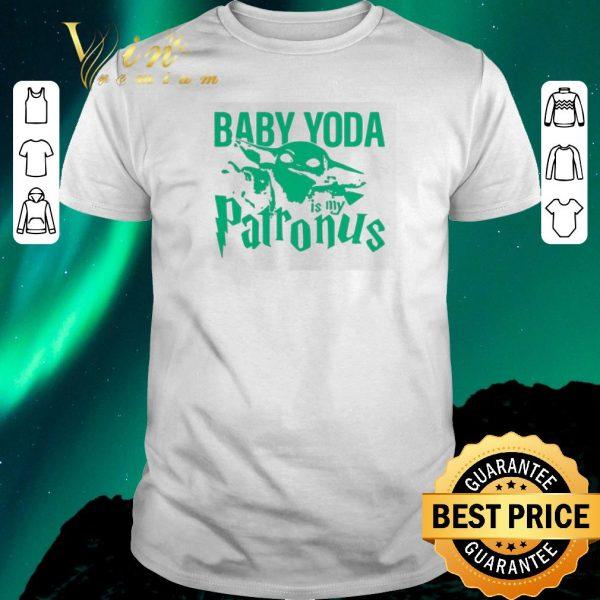 Awesome Mandalorian Baby Yoda is my patronus shirt sweater
