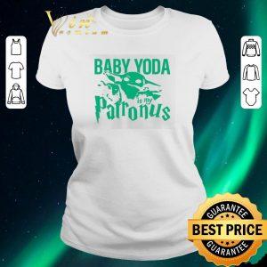 Awesome Mandalorian Baby Yoda is my patronus shirt sweater 1