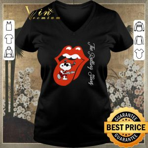 Awesome Snoopy The Rolling Stones Logo shirt sweater