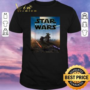 Awesome Star Wars way of Yoda Poster shirt sweater