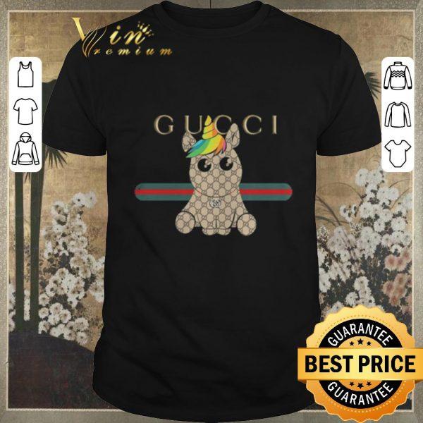 Awesome Unicorn Gucci Logo shirt sweater