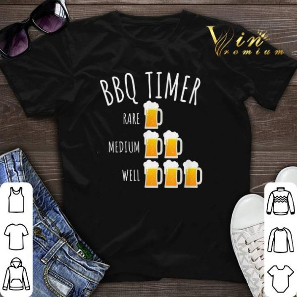 Bbq Timer Beer Drinking Grilling shirt sweater