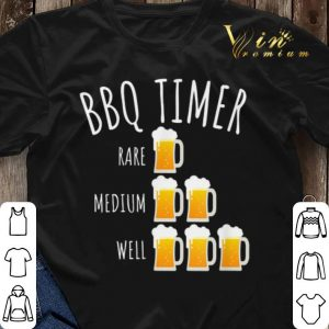 Bbq Timer Beer Drinking Grilling shirt sweater 2