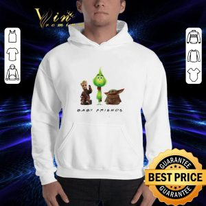 Cheap Baby Friends Baby Yoda Baby Grinch And Baby Groot shirt 2