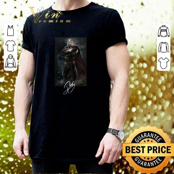 Cheap Dwayne Johnson The Rock Black adam signature shirt