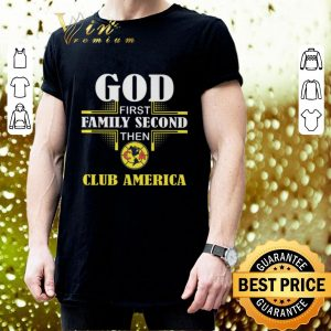 Cheap God first family second then club America shirt 2