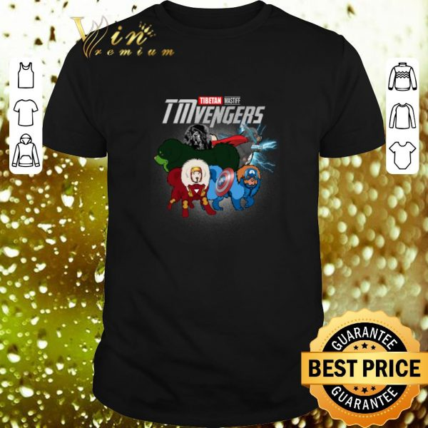 Cheap Marvel Avengers Endgame Tibetan Mastiff TMvengers shirt