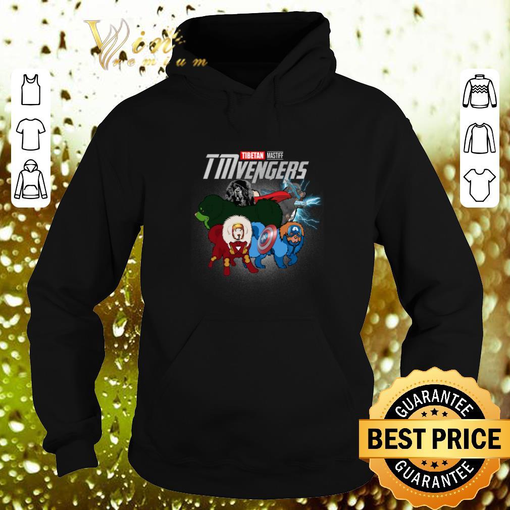 Cheap Marvel Avengers Endgame Tibetan Mastiff TMvengers shirt 4 - Cheap Marvel Avengers Endgame Tibetan Mastiff TMvengers shirt