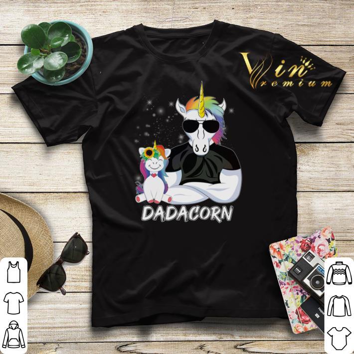 Christmas Dadacorn Unicorn Dad And Daughter shirt 4 - Christmas Dadacorn Unicorn Dad And Daughter shirt
