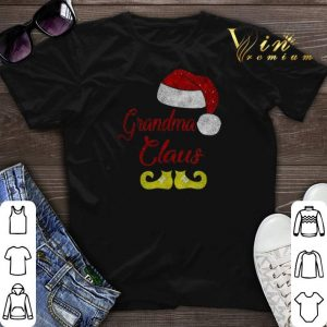 Christmas Grandma Claus Santa Hat shirt
