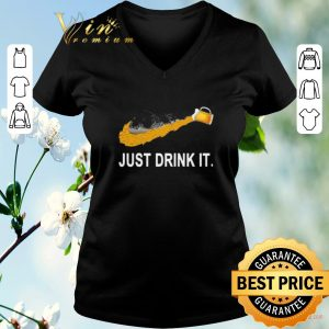 Funny Adidas Beer Just Drink It shirt sweater