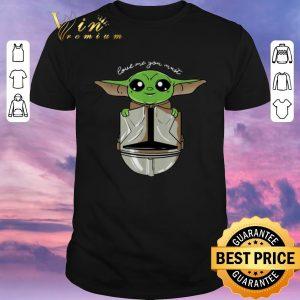 Funny Baby Yoda Love Me You Must The Mandalorian shirt sweater
