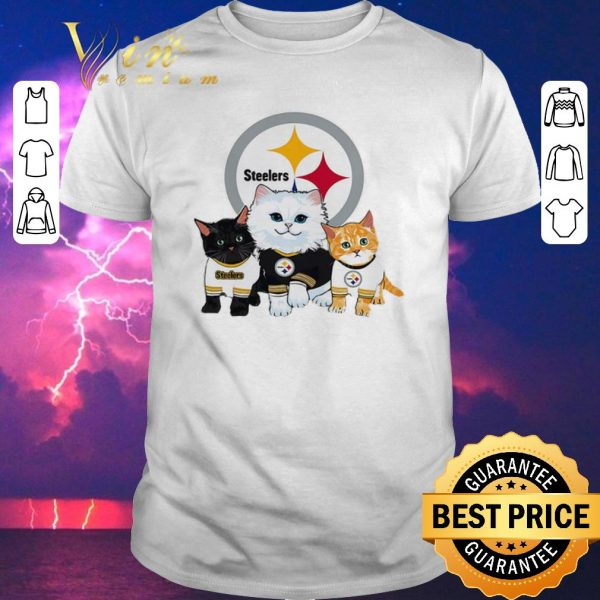Funny Cats Pittsburgh Steelers shirt sweater