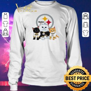 Funny Cats Pittsburgh Steelers shirt sweater 2