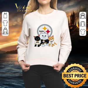 Funny Cats Pittsburgh Steelers shirt