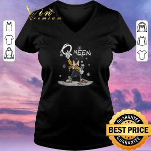 Funny Christmas Mickey Freddie Mercury Queen shirt