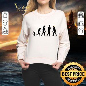 Funny Evolution Resist Anti Trump shirt