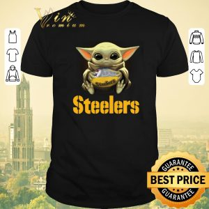 Funny Star Wars Baby Yoda Pittsburgh Steelers NFL ball shirt