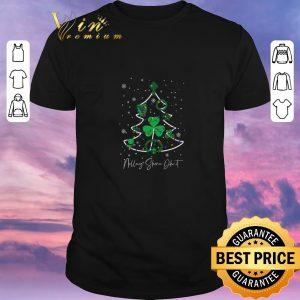 Hot Christmas tree Irish Nollaig Shona Dhuit shirt