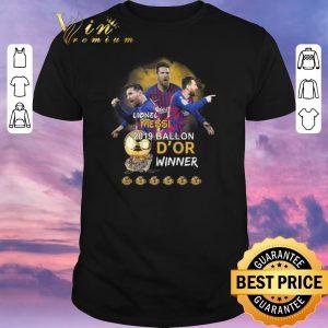 Hot Lionel Messi 2019 Ballon D'or winner shirt sweater