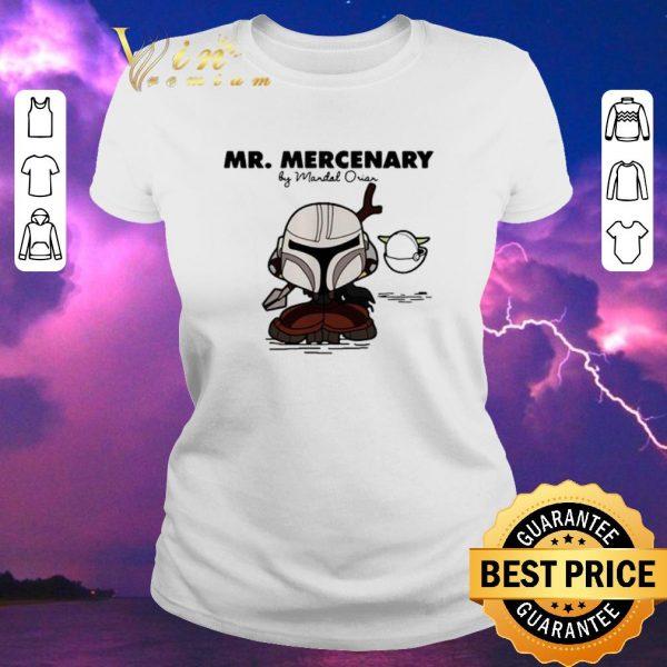 Hot Mandalorian Mr Mercenary shirt sweater