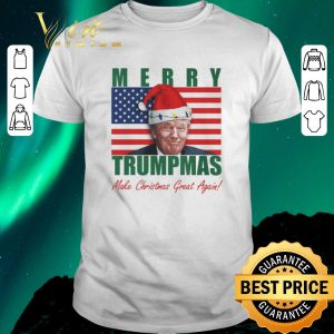 Hot Merry Trumpmas Make Christmas Great Again Christmas shirt sweater