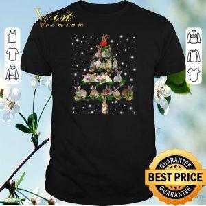 Hot Rabbit Christmas Tree Bunny shirt sweater